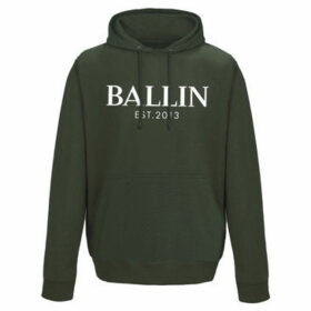 Ballin Est. 2013  Pocket Hoodie  women's Sweater in Green