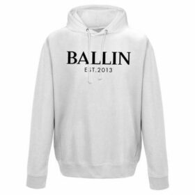 Ballin Est. 2013  Pocket Hoodie  women's Sweater in White