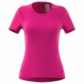 adidas  FR SN SS Tee W  women's T shirt in Pink