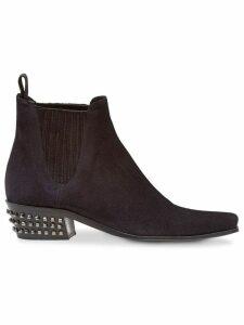 Miu Miu square toe ankle boots - Black