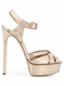 Casadei Flash sandals - Metallic