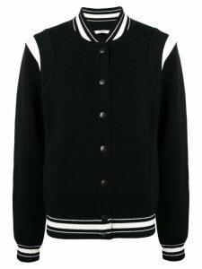 Givenchy logo bomber jacket - Black