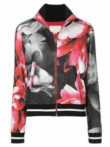 Nicole Miller printed bomber jacket - Multicolour