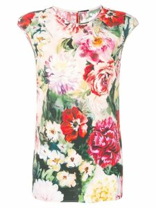 Dolce & Gabbana floral print blouse - Red