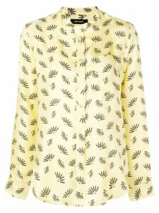 Isabel Marant patterned blouse - Yellow