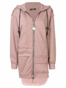 Diesel F-Ture zipped hoodie - PINK