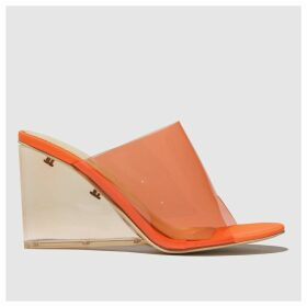 Public Desire Orange Maliboo High Heels