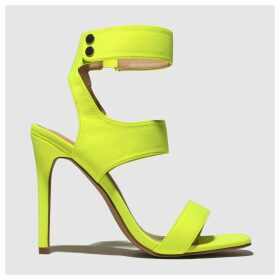 Public Desire Yellow Pulse High Heels