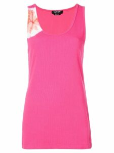 Calvin Klein 205W39nyc ribbed tank-top - PINK