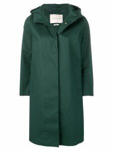 Mackintosh Cedar Green Bonded Cotton Hooded Coat LR-021