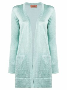 Missoni glitter knitted cardigan - Green