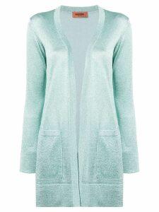 Missoni glitter knitted cardigan - Green