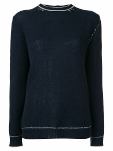Marni rear button-down sweater - Blue