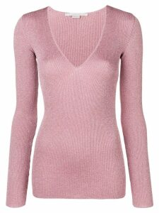 Stella McCartney lurex sweater - PINK