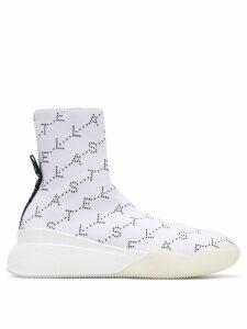 Stella McCartney Loop Monogram sneakers - White
