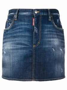Dsquared2 Daima mini skirt - Blue