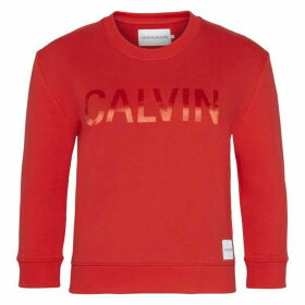 Calvin Klein Jeans Satin Bond Crew Sweater