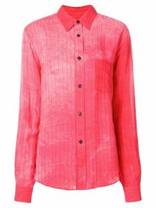 Golden Goose striped shirt - Red