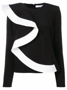 Givenchy ruffled top - Black