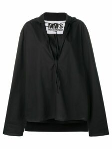 Mm6 Maison Margiela oversized top - Black