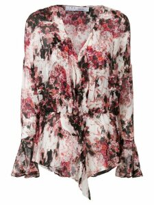 IRO all-over print blouse - White