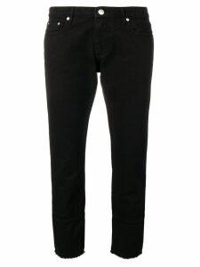 MSGM straight leg jeans - Black