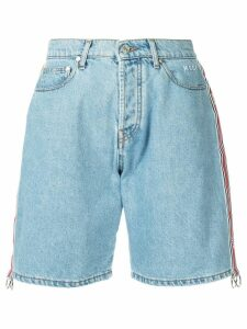MSGM Bermuda denim shorts - Blue