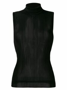 Givenchy ribbed blouse - Black