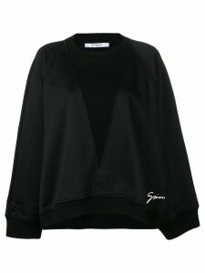 Givenchy Bat Sleeves sweatshirt - Black