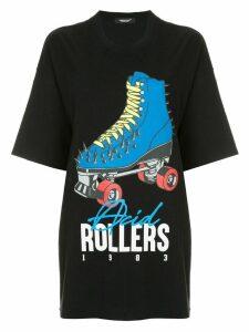 UNDERCOVER roller skate print T-shirt - Black