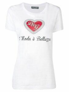 Dolce & Gabbana Moda è Bellezza T-shirt - White