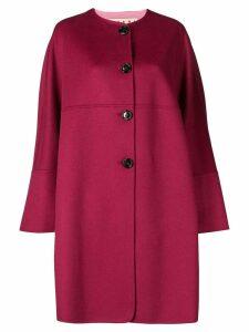 Marni single-breasted flared coat