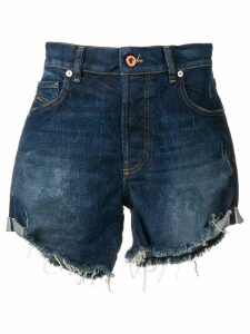 Diesel turn-up midi shorts - Blue