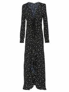 Miu Miu star print dress - Black