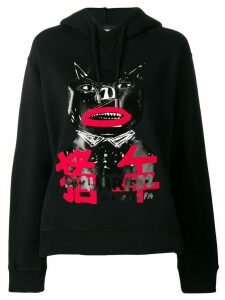Dsquared2 logo graphic-print hoodie - Black
