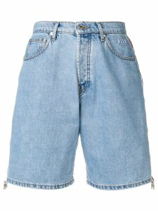 MSGM denim shorts - Blue