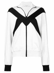 Givenchy zip-up bomber jacket - White