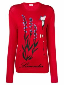 Sonia Rykiel knitted jumper - Red