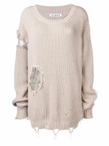 Almaz distressed jumper - NEUTRALS