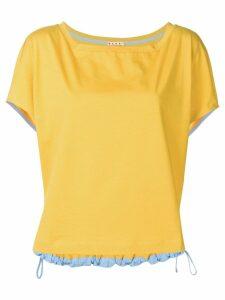 Marni corded tee - Yellow
