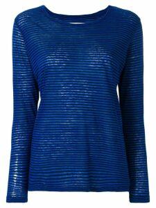Isabel Marant Étoile striped T-shirt - Blue