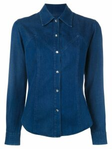 Romeo Gigli Pre-Owned denim shirt - Blue