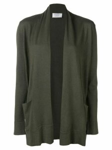 Snobby Sheep open-front fitted cardigan - Green