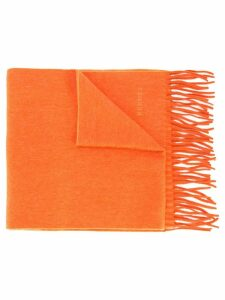 Hermès Pre-Owned 1986 cashmere scarf - Orange