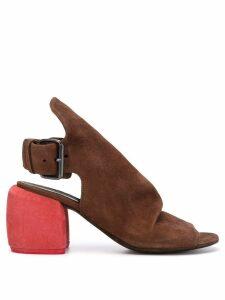 Marsèll contrast heel sandals - Brown