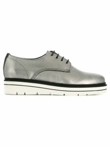 Tommy Hilfiger oxford style sneakers - Metallic