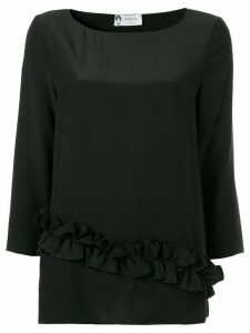 LANVIN ruffle detail blouse - Black