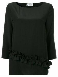 LANVIN ruffle detail blouse - Black