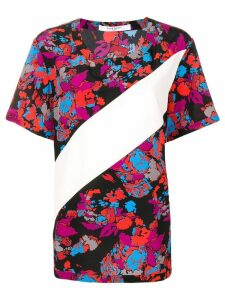 Givenchy floral print silk blouse - Red