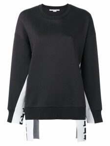 Stella McCartney panelled jumper - Blue